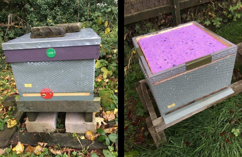 Winter hive preparation